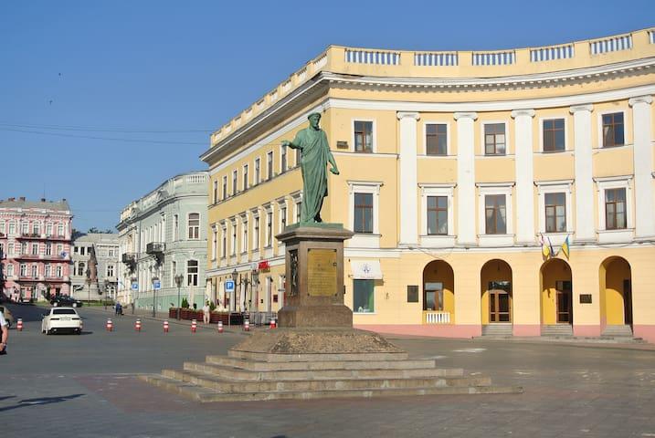 Odessa apartment LOFT