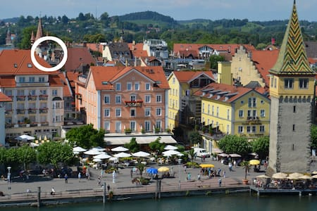 Island apartment with lake view - Lindau old town - Lindau - 아파트