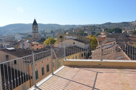 Panoramic penthouse in Cascina Terme - Casciana Terme