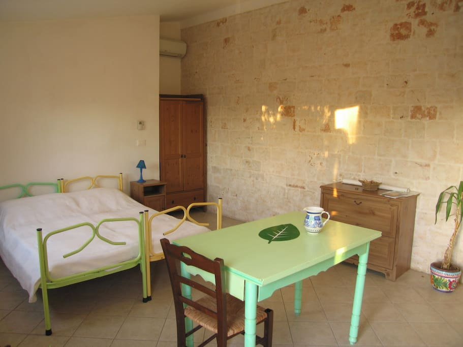 stanza tripla con bagno privato - possibilità di aggiunta letto singolo