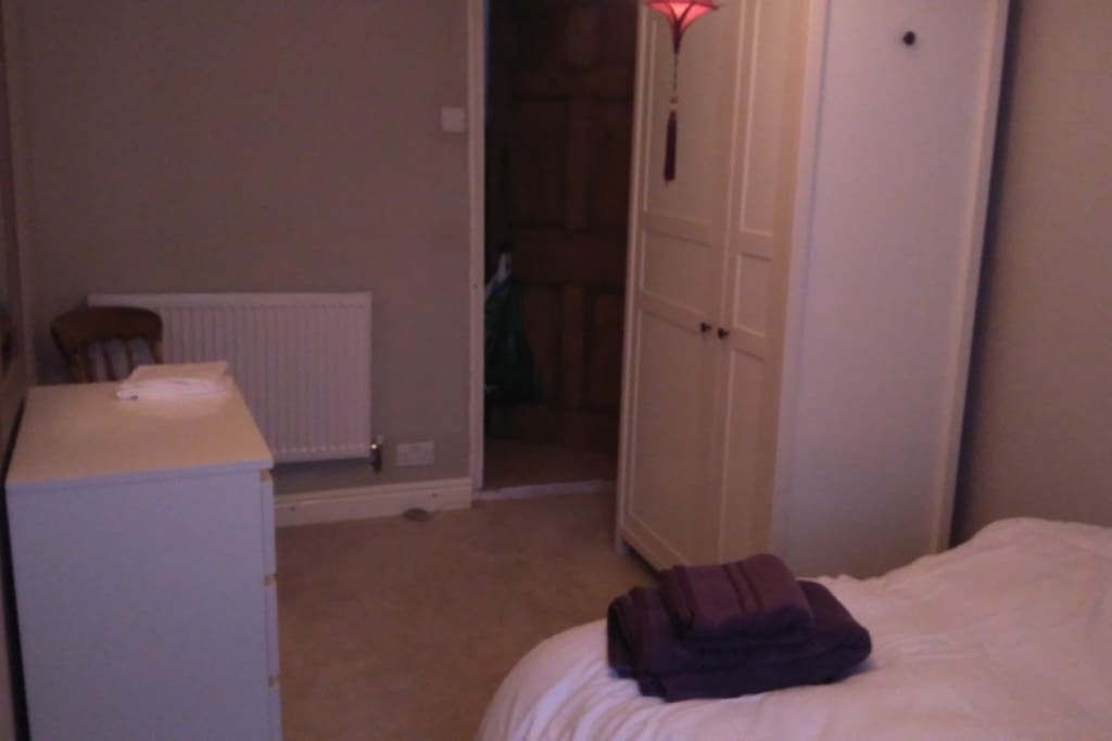 Second view of the bedroom.