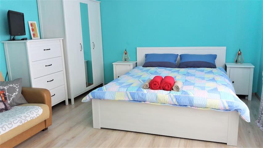 Spacious Cozy Room - Mint House