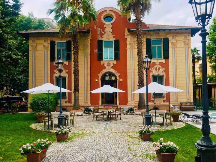 Villa Mirosa B&B, camera tripla parcheggio privato
