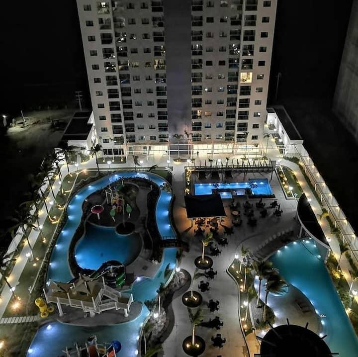 Apartamento em Resort. Em Maio. Até 4 pessoas.