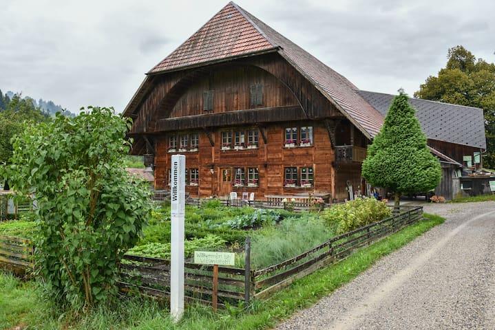 wielandleben BnB Bauernhaus - Eggiwil - Penzion (B&B)