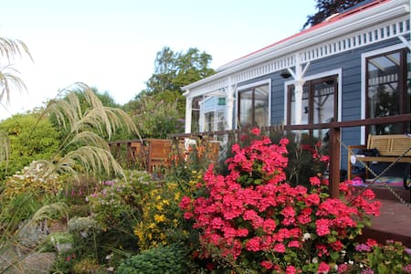 Sunny double bedroom with ensuite - Dunedin - Talo