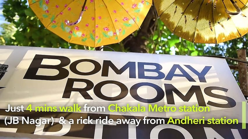 Bombay Rooms -Near to Airport & Metro station