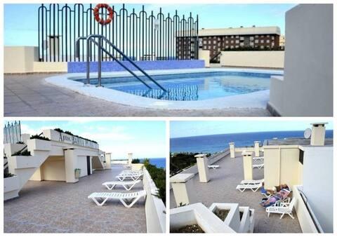 Playa Jardin Sea View Terrace by the sea with Wifi