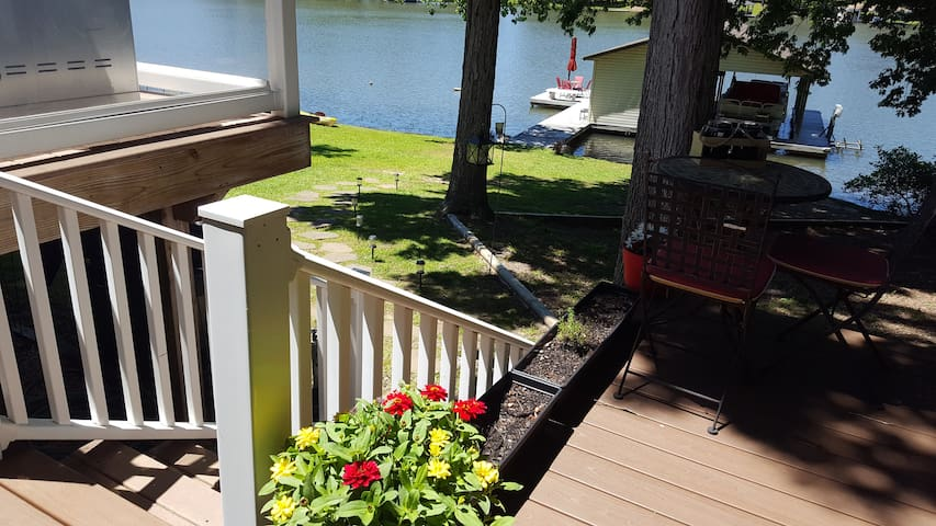 Just breathe in the fresh air and enjoy your glass of wine or cup of morning coffee from your deck!