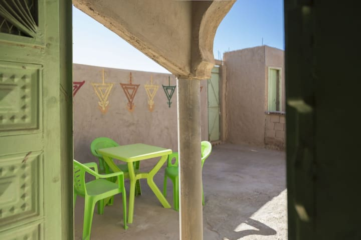 Berber Family House / camel trek