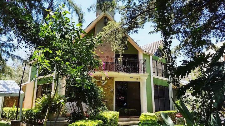 Bella Moderna Privada Casa de Campo Huasca Centro