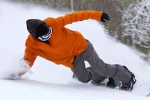 Snowboarding at Cataloochee Ski Resort