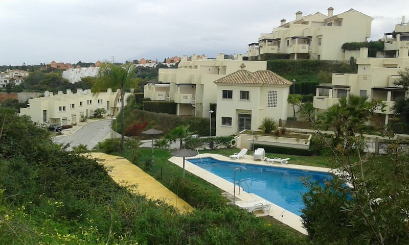 View of Urbanisation and Pool
