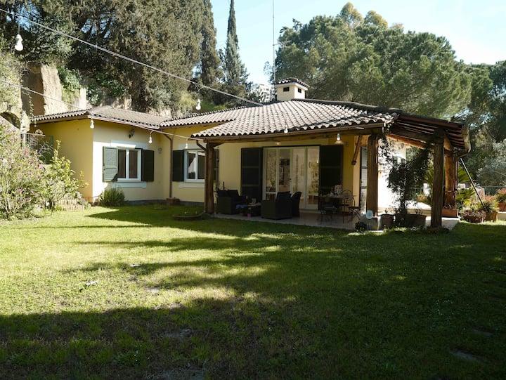 Villa Simone, un'oasi a Roma