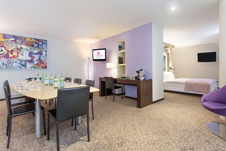 Studio 1003 avec petit jardin proche de EPFL & lac - Saint-Sulpice - Bed & Breakfast
