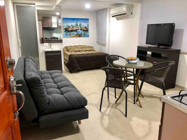 Lindo apartamento independiente a 50 mts la playa.
