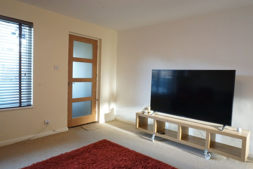 Entrance to Living Room TV with Netflix