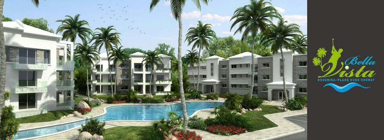 Appartement à Oued Cherrat Bouznika - Ben Slimane - Huoneisto