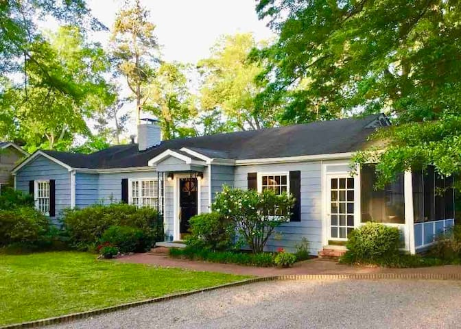 Gone Away Cottage- Aiken's Downtown Horse District