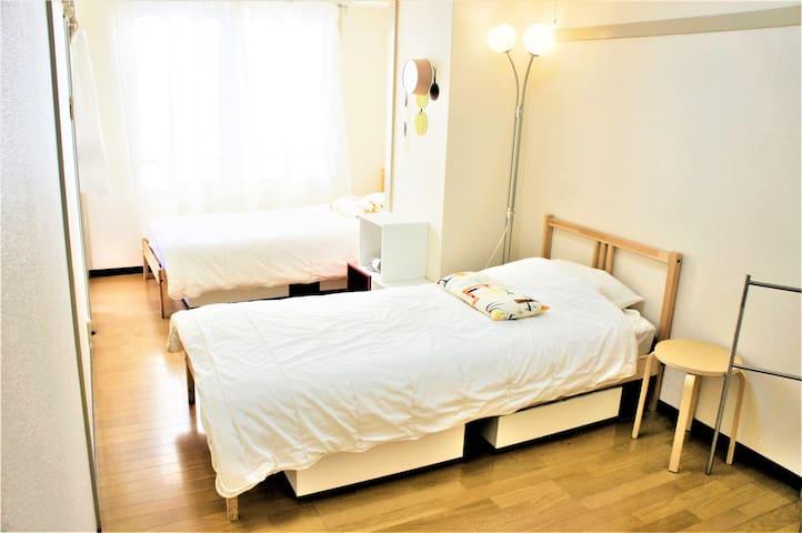 四谷&Near新宿 JR 4mins Walk+Wifi MAX11PP Room302
