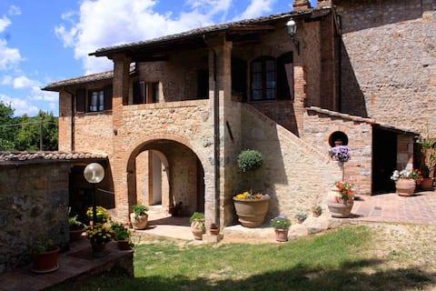 Villa Casabella near Siena