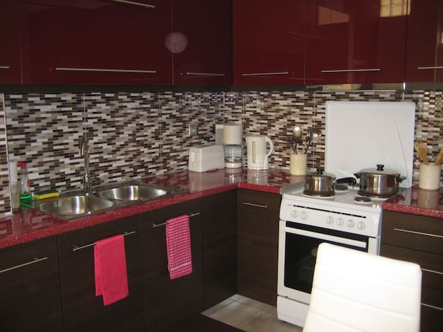 our newly renovated kitchen