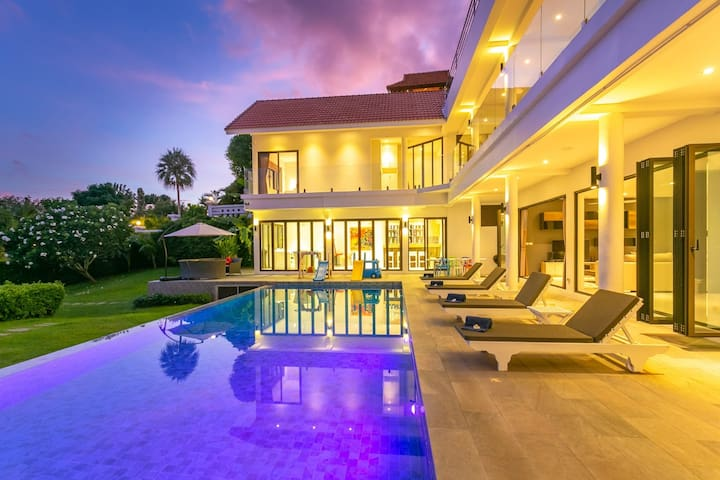 Phuket Villa 6bedroom CAPE YAMU by XXIV 普吉6 臥海景別墅