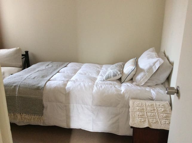 Acogedora habitación individual, entorno familiar