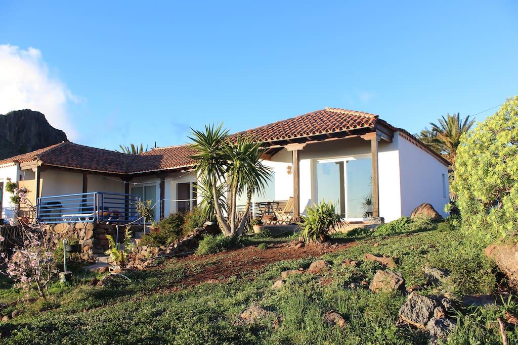 landhaus gemuetlich und ruhig la hoya cottages zur miete in alajer canarias spanien. Black Bedroom Furniture Sets. Home Design Ideas