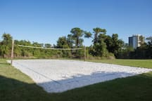 Hit up the recreational volleyball court for some good ol' fun