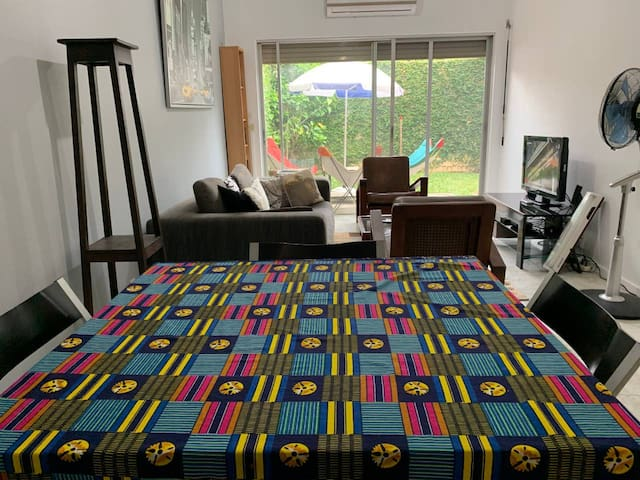 Votre séjour mieux qu'a  l'hôtel (Abj-Biétry) !  ☺️