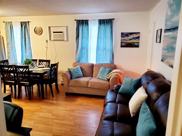 Welcome to our cozy and newly renovated Virginia Beach deluxe apartment, stocked with everything you will need for your stay! Within walking distance of the beach and convention center!