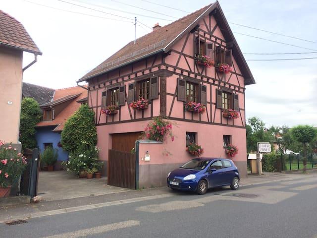 Gite du Rittersberg - Scherwiller - Huis