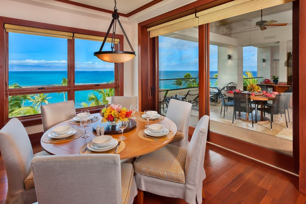Ocean Front Private Dining Room & Panoramic Views