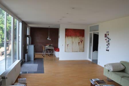 Loftartiges Wohnen mit herrlichem Ausblick - Rösrath - Apartmen