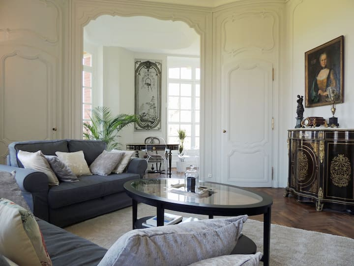 Luxurious apartment in large Chateau