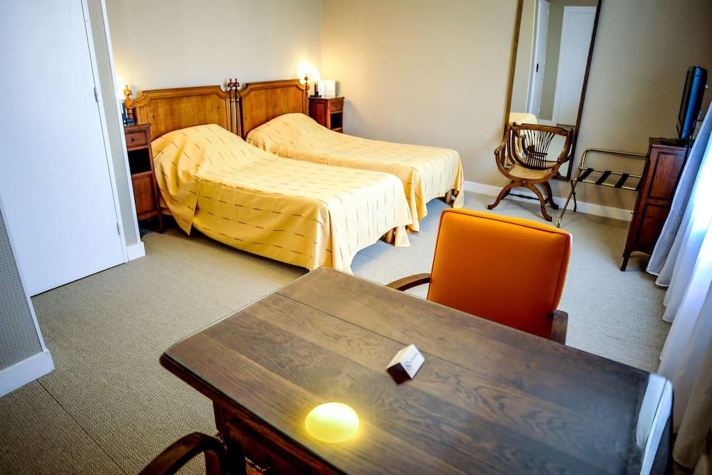 chambre double standard hotel les goelands