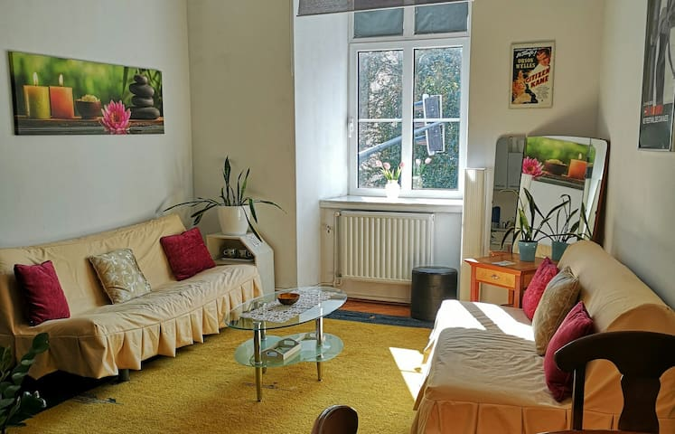 SLEEPS 5★2 ROOMS★NEAR MAIN SQUARE★LARGE 60m²