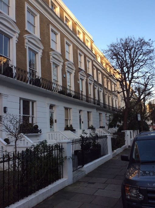 Top London residential Street with all Houses in the street worth £4M - £5Million GBP price range!!!