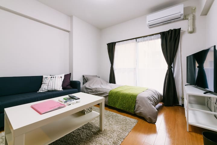 Brand new opened Sunny 1BR! 1min from Canal City