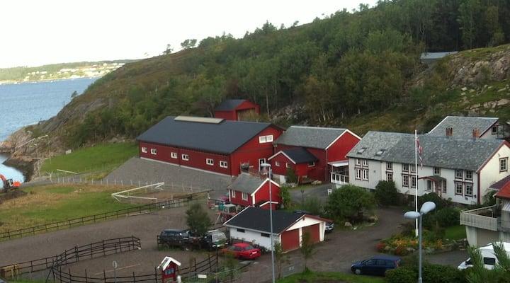 Fjøsloft på gårdsbruk