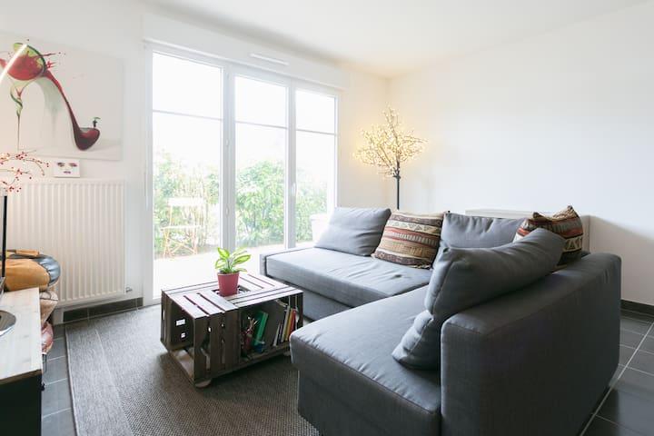 Appartement lumineux et chaleureux proche Paris - Villemoisson-sur-Orge - Flat