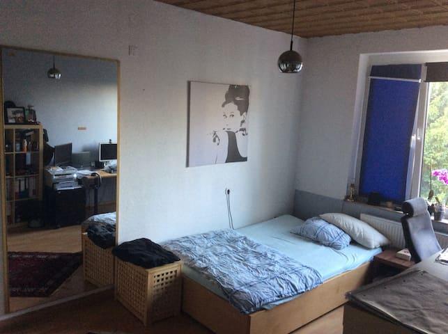 Gemütliches Zimmer an den Thermen - Aken - Appartement