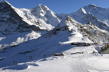 3.5-room Holiday Apartm. directly at the ski slope - Grindelwald