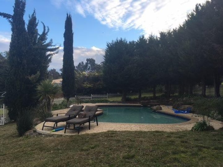 Sprawling 5 Bedroom Home with Pool on 2 Acres!