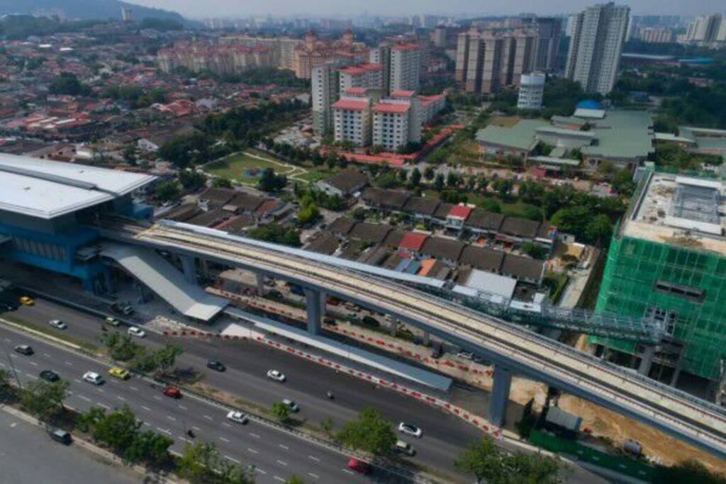 Taman midah MRT station nearby condominiumin