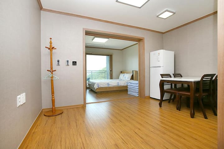 지리산 산청 동의보감테마파크에 있는 최고급 호텔 (침대형)