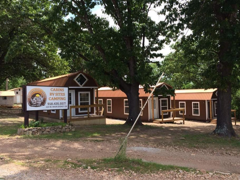 Copperwood lodge cabins for rent in disney oklahoma for Grand lake oklahoma cabin rentals