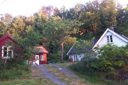 Hytte i Kristiansad,nær dyreparken og strand. - Randesund - 小木屋