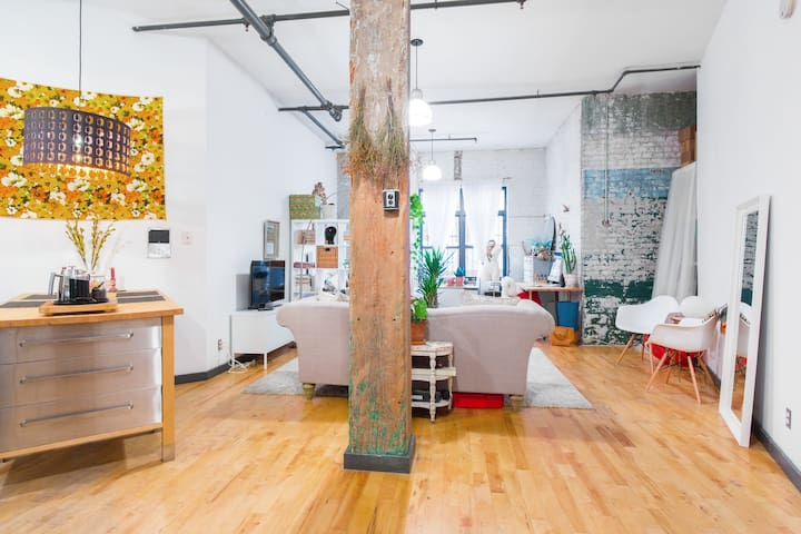 !Spacious & Modern Brooklyn Loft! - Brooklyn - Loft